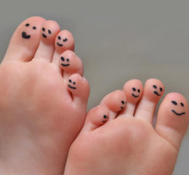 Happy feet bunion